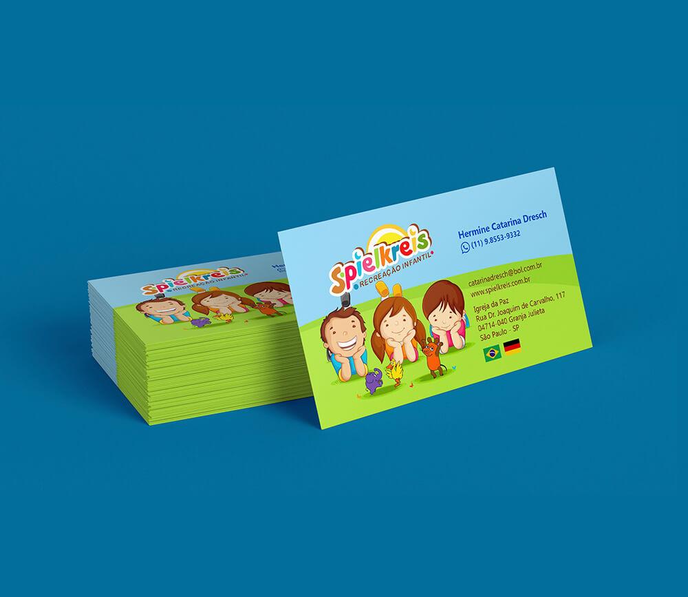 Projeto Gráfico Spielkreis Kindergarten