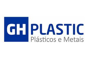 Logotipo GH Plastic Plásticos e Metais