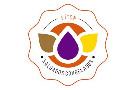 Logotipo Víton Salgados Congelados