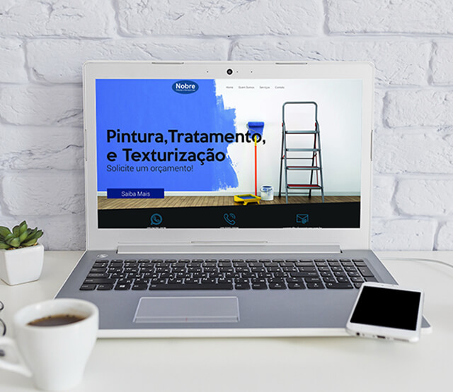 Website Nobre Pinturas