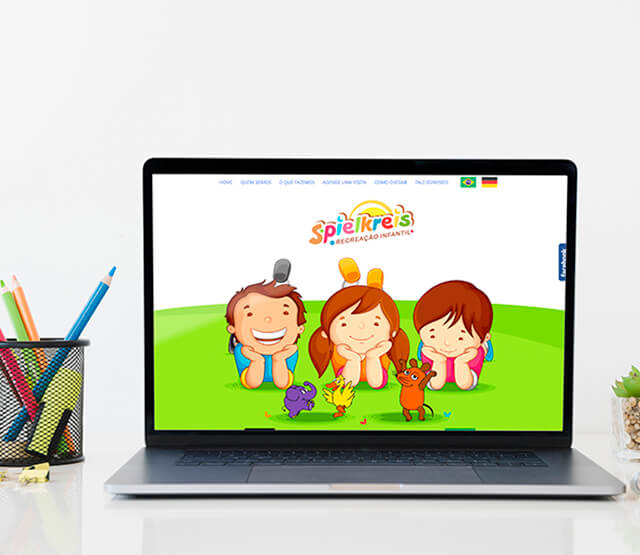 Website Spielkreis Kindergarten