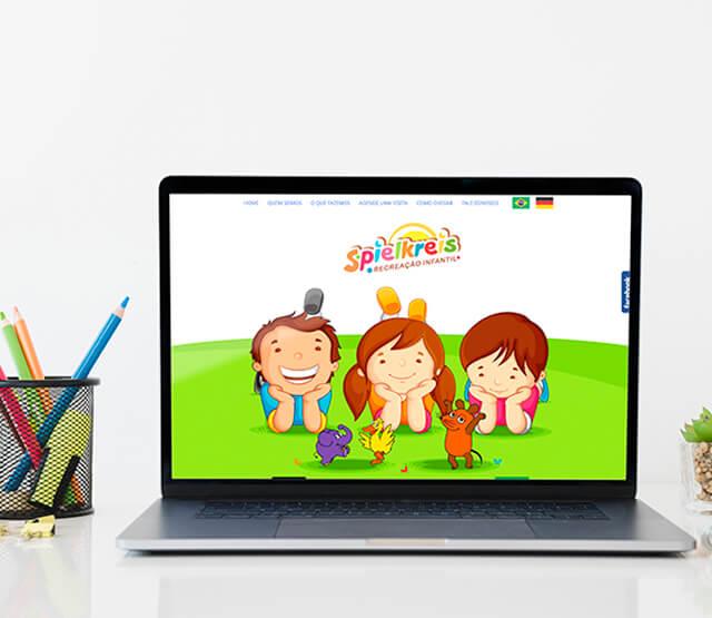 Website Spielkreis Kindergarten