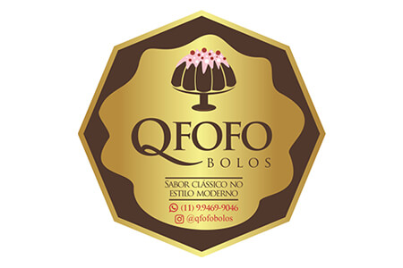 Logotipo QFofo Bolos